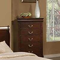 West Haven 5 Drawer Tall Boy Chest