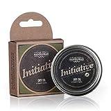 Citrus Beard Balm - Initiative (Citrus Bergamot Lavender Scent) - Premium Beard Balm for Men | Dry Oil Beard Conditioner | 2 Oz Stainless Steel Tin