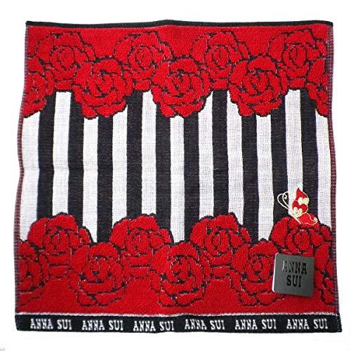 (안나수이) ANNA SUI 타올 손수건 장미 스트라이프 handkerchief