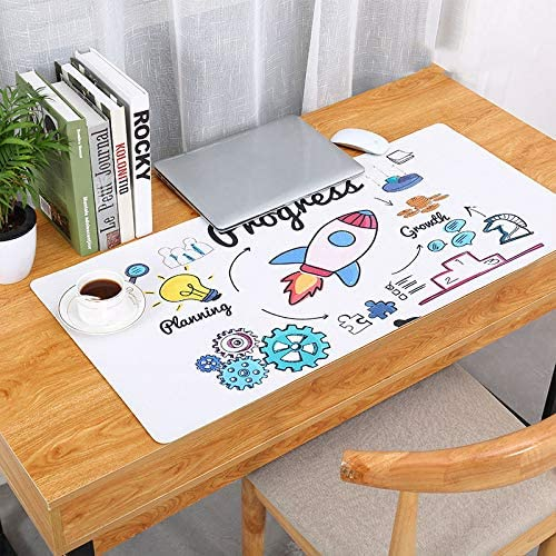 RONSHIN Fashion Pattern Oversized Precision Pro Gaming Mouse Pad Computer Desk Mat Jungle Plantain 900x420