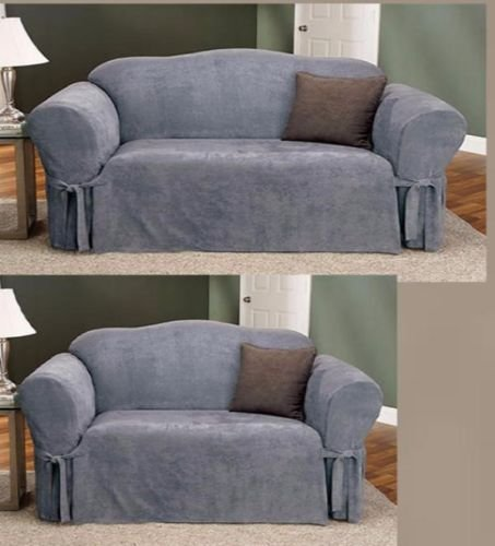 2-pc-soft-micro-suede-couch-sofa-loveseat-slip-cover-brown-black-beige-sage-new