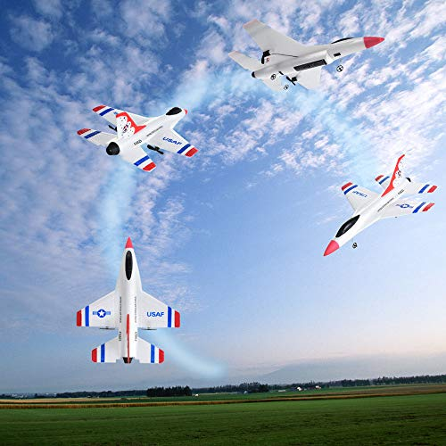FX-823 RC Airplane Flying Glider Plane Remote Control Helicopter Birthday Party Favor Plane 2.4G 2CH-Outdoor Sports Toy-EPP Foam by Sipring (Image #4)
