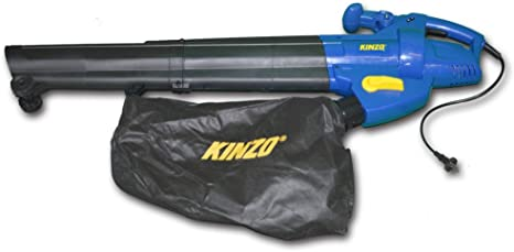 vidaXL KINZO Soplador/Aspirador / Trituradora 3 Funciones 2500W: Amazon.es: Hogar