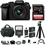 Panasonic LUMIX G7 Mirrorless Camera with 14-42mm Lens and SanDisk 64 SD Card Bundle