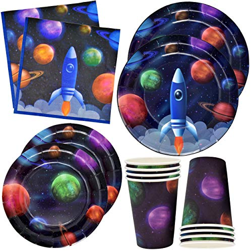 (Gift Boutique Outer Space Party Supplies 24 9