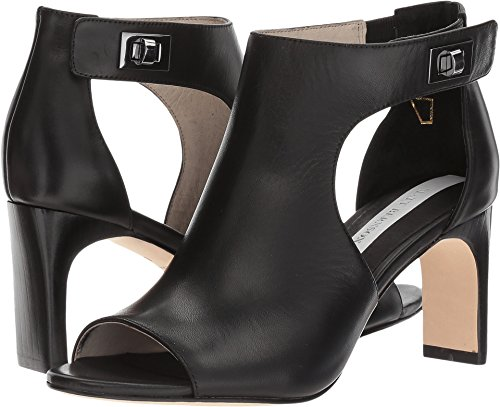Black Women's Cutout Matt Bernson Sandals Lyra UBX6Y