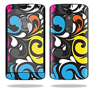 MightySkins Protective Vinyl Skin Decal for Motorola Droid Turbo 2 case wrap cover sticker skins Swirly