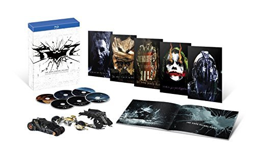 The Dark Knight Trilogy: Ultimate Collector's Edition Blu-Ray