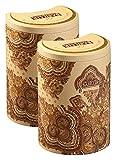 Basilur   Masala Chai   With Natural Spices - Cardamom, Cloves, Cinnamon   Ultra- Premium Ceylon Black Loose Tea   Single Origin Tea   100g (3.52 oz.) Tin Caddy   Pack of 2