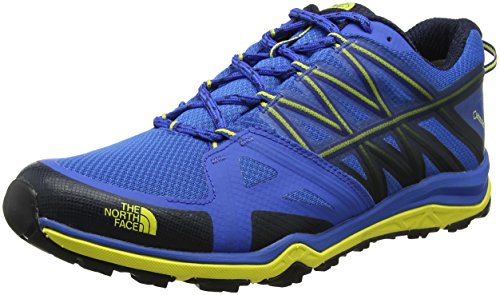 The North Face Hedgehog Fastpack Lite II Gore-Tex, Stivali da Escursionismo Uomo Blu (Blue Quartz/Blazing Yellow)