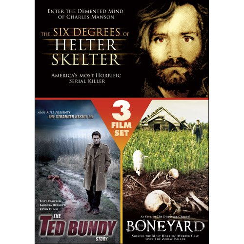Triple Feature Thriller: The Six Degrees of Helter Skelter/The Ted Bundy Story/Boneyard ()