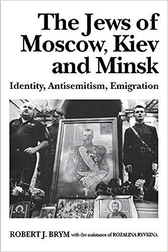 Libros gratis en línea sin descargasThe Jews of Moscow, Kiev, and Minsk: Identity, Antisemitism, Emigration in Spanish PDF FB2 iBook 0814712304 by Robert J. Brym
