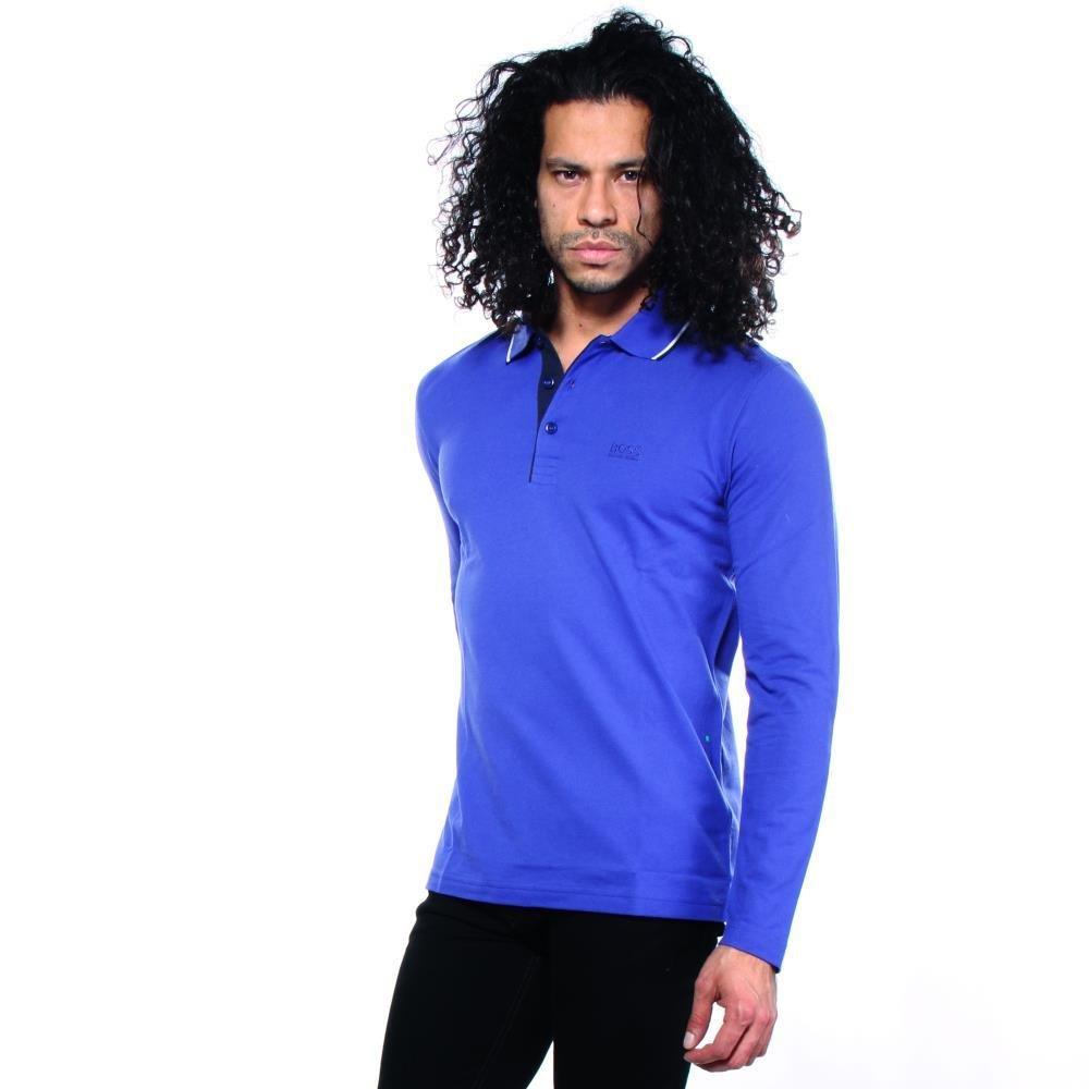 92c55acd12b Amazon.com: Hugo Boss Plisos Polo Shirts M Men Blue: Clothing