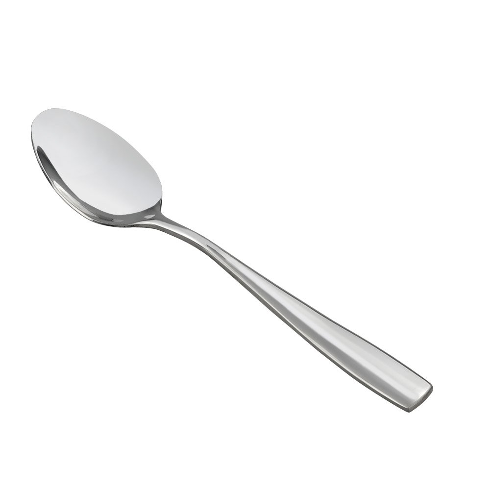 HOMMP 16-Piece Dinner Spoons, Stainless Steel, 8.27 Inch