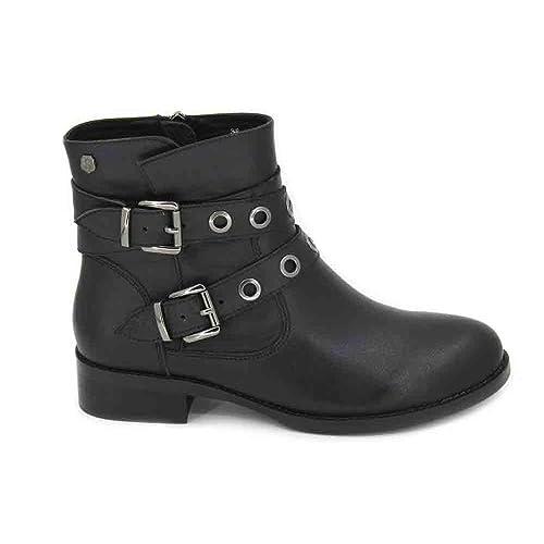 CARMELA 66432 BOTÍN Hebillas Piel Mujer Botines: Amazon.es: Zapatos y complementos