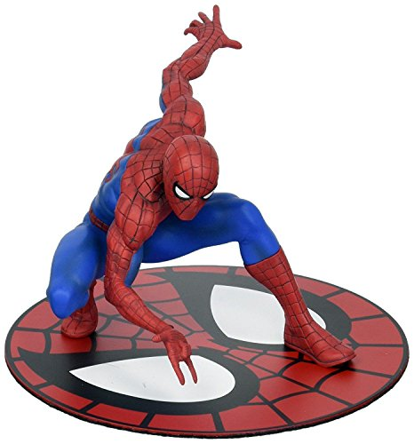 Amazing-Spider-Man-Statue-magnetic-spiderman-with-display-plate-110-scale-figure-no-box