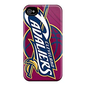 Best Hard Cell-phone Cases For Iphone 6plus (YVS18714oLxa) Support Personal Customs Lifelike Cleveland Cavaliers Pictures