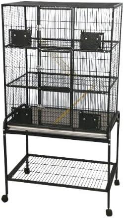 A E Cage Co. 3 Level Small Animal Cage