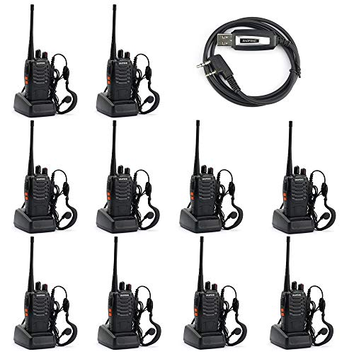Baofeng BF-888S Two Way Radio (Pack of 10) and USB Programming Cable (1PC) by BAOFENG (Image #7)