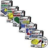 Mastercam X8-X9 2D Mill, 3D Advanced Mill, Lathe & C-Y Axis, Solids, & Multi-axis Beginner Video Tutorial Training Bundle