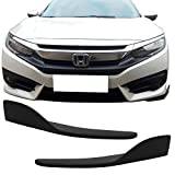 2012 camaro bumper lip - Rear Bumper Lip Splitters Fits Any Car | Universal Fit Front Or Rear Bumper Lip Splitters Winglets Canards 30x4 Inch 2PC PP by IKON MOTORSPORTS