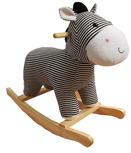 (Kids Preferred Zebra Baby Rocker)