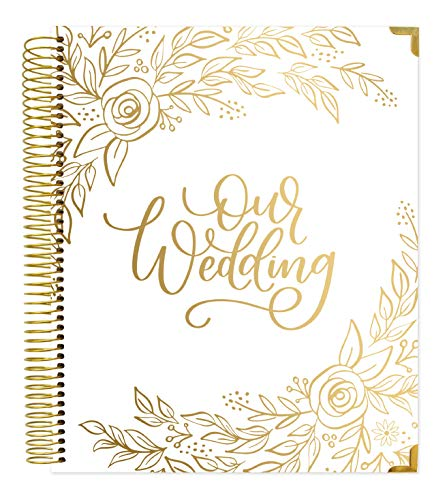 bloom daily planners Hard Cover Wedding Day Planner & Organizer (Undated) - 9
