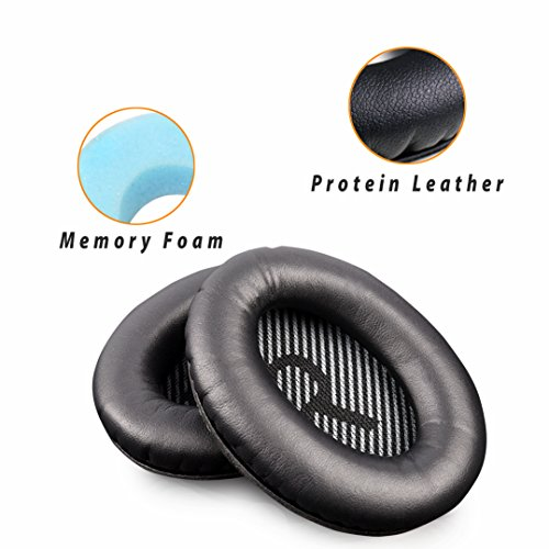 Replacement Earpads Ear Pad Foam Ear Pad Memory Foam Replacement Ear Cushion For BOSE QuietComfort15 QC2 QC15 QC25 QC35 AE2, AE2i, AE2 wireless, AE2-W headphones. (Style5)