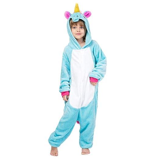 FTYUNWE para Niños Animal Pijama Caballo Cielo Azul Animale ...