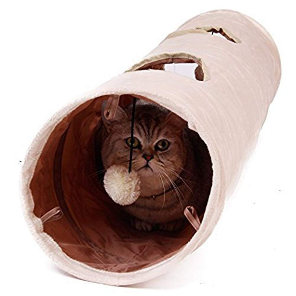 Cat Tunnel Toy, Collapsible, Kitten Indoor Toys