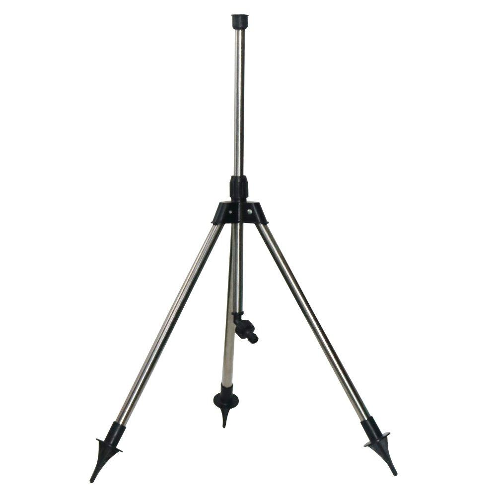 ADHERETOFLY Adjustable Tripod for Garden Lawn Sprinkler Telescopic Irrigation Tools