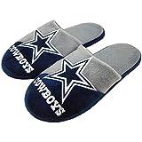 Dallas Cowboys NFL Men's Big Logo Slipper 2.0
