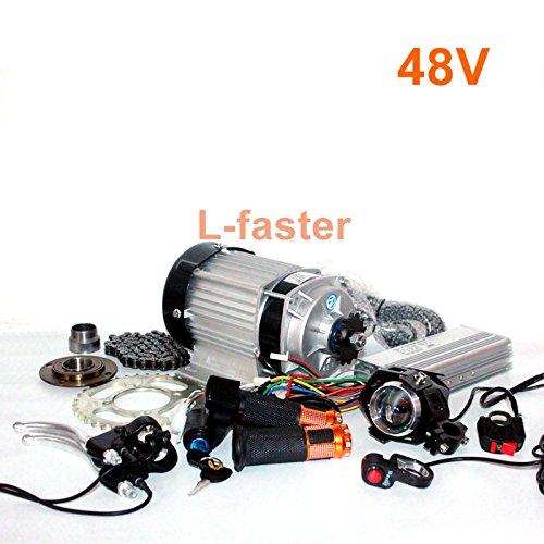 【人気商品!】 48ボルト500ワット電動電動三輪車電動輪タクmotor kit [並行輸入品] 60ボルト750ワット電動トライク人力車エンジン変換キット B07967DL2Y [並行輸入品] 48V500W 48V500W B07967DL2Y, シウラムラ:4862c1fa --- staging.aidandore.com