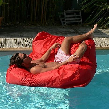 Sit In Pool Red Swimming Pool Memory Foam Sofa