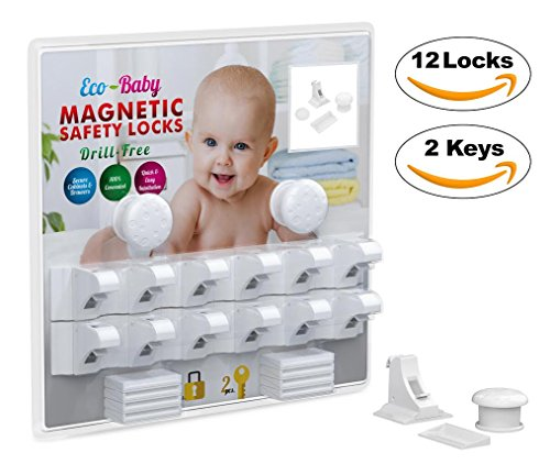 Baby Amp Child Proof Cabinet Amp Drawers Magnetic Safety Locks