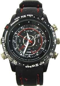 Cablematic - Cámara espía en reloj de pulsera resistente al agua