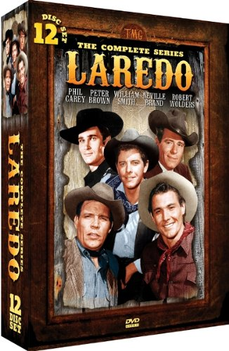 Laredo - The Complete Series 1965-1967 - 12 DVD Set!