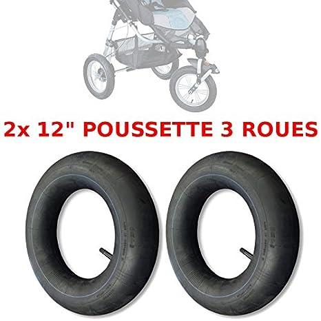 2 cámaras de aire de 12 pulgadas para cochecito de tres ruedas tipo High Trek 1ª generación: Amazon.es: Bebé