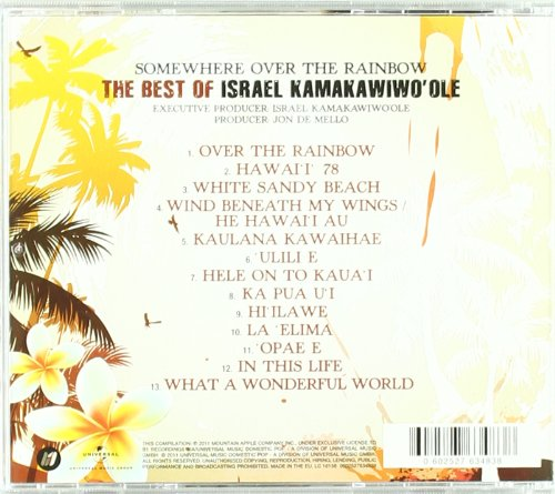 Israel Iz Kamakawiwoole Somewhere Over The Rainbow The Best Of