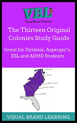 Esl study guide ebook ebook download array amazon com thirteen colonies visual study guide great for the rh fandeluxe Gallery