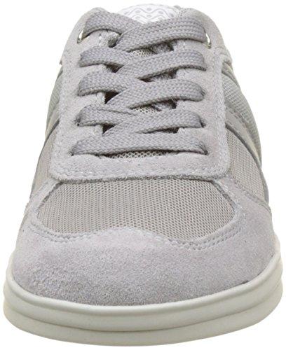 Geox J Anthor Boy B, Zapatillas Para Niños Grau (Grey/Lt Grey)
