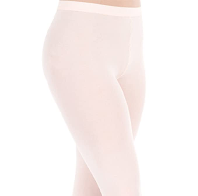 cc54bfcaad9 Amazon.com  FEOYA Girls Stirrup Dance Tight Ballet Stockings Breathable  Stretch Cotton Body Wrappers  Clothing