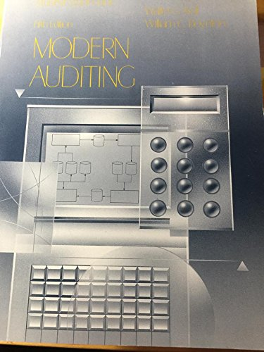 Student Study Guide To Accompany Modern Auditing