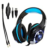 Studyset 3.5mm Gaming Earphone Gaming Headset Xbox One Headset with Microphone for PC
