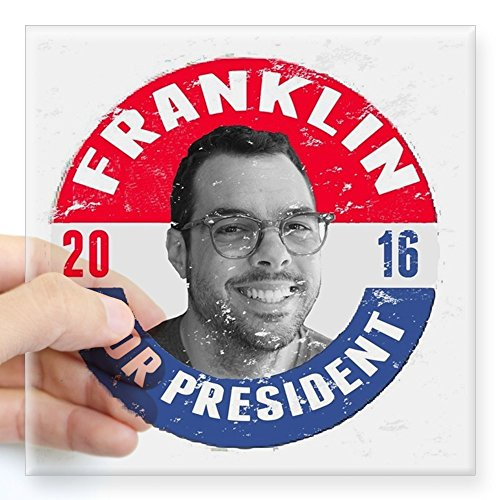 cafepress-franklin-2016-square-sticker-3-x-3-square-bumper-sticker-car-decal-3x3-small-or-5x5-large