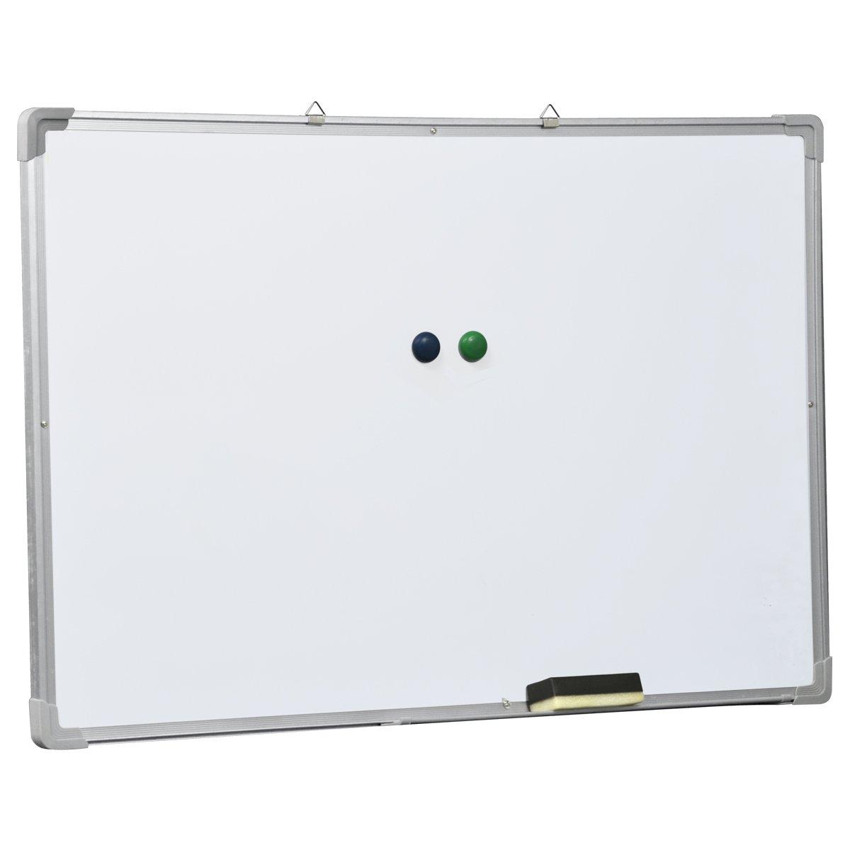 70 x 50cm Accessotech lavagna magnetica cancellabile a secco e cancellino memo nota disegno scuola di presentazione 700 x 500mm