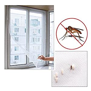 Window Mosquito Net - Window Mesh Net - Window Mosquito Netting Net Window - Mosquito Net For Windows - Insect Fly Mosquito DIY Door Net Netting Mesh Screen ...
