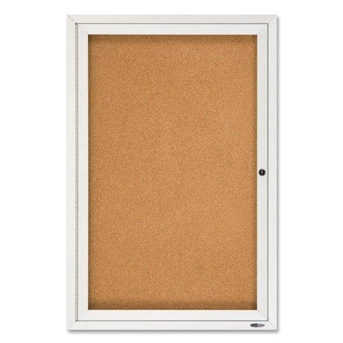 Quartet Enclosed Outdoor Bulletin Board,1-Door,2'X3',Aluminum Frame *** Product Description: Quartet Enclosed Outdoor Bulletin Board,1-Door,2'X3',Aluminum Frameenclosed Outdoor Bulletin Board Offers A Self-Healing Cork Surface And High-Density Ba ***