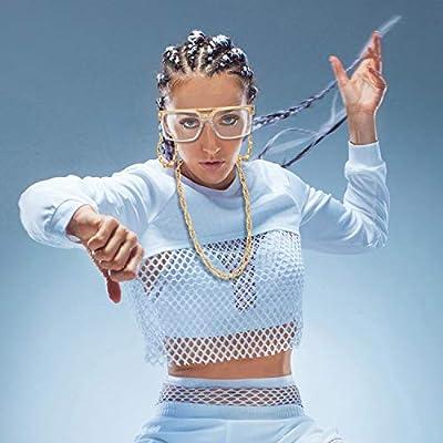 Kit de Hiphop Disfraz de Mujer Gafas de Rapero de Vieja Escuela ...