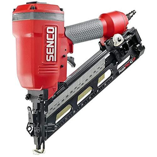 SENCO 4G0001R FinishPro42XP XtremePro 15-Gauge 2-1/2 in. Oil-Free Angled Finish Nailer (Renewed)